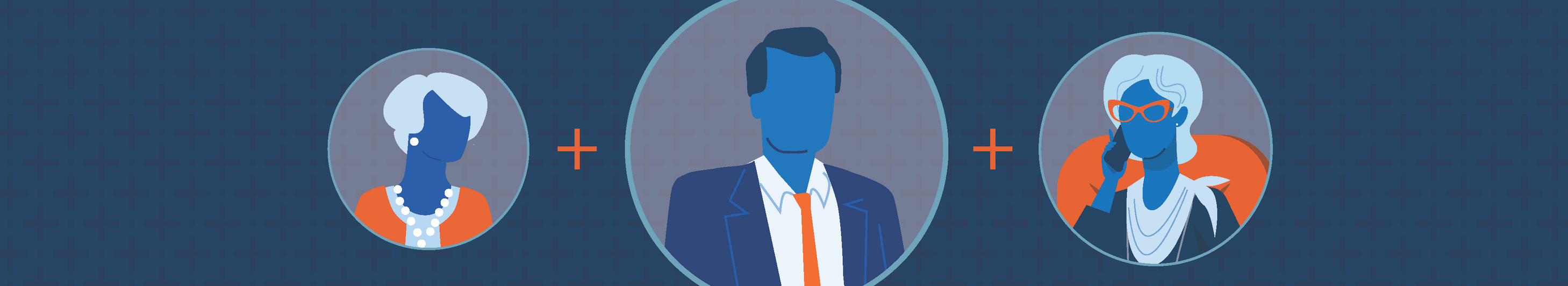 illustration of a financial professional